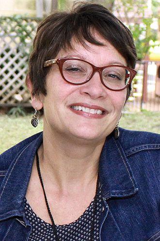 Meg Medina - Medina at the 2016 Texas Book Fair