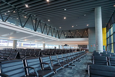 melbourne airport sits right - HD4240×2832
