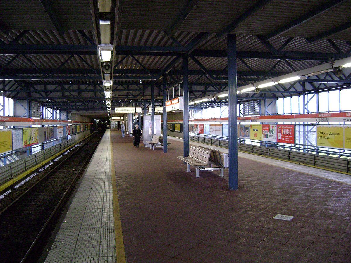 Mellunmäki metro station - Wikipedia