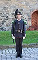 Member of His Majesty The King's Guard at Akershus Fortress, Oslo, Norway (PPL1-Corrected) julesvernex2.jpg