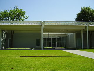 Menil Collection art museum in Houston, Texas