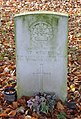 Mercer CWGC gravestone, Kirkdale Cemetery.jpg