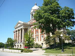 Mercer County, Pennsylvania - Image: Mercer County Courthouse Pennsylvania 2010