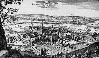 Biel/Bienne - Biel/Bienne in 1642