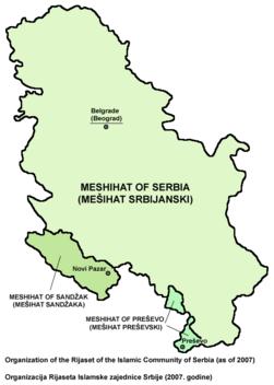 Mesihati srbije mapa.png