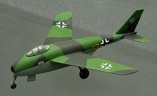 Messerschmitt P.1101 German fighter prototype