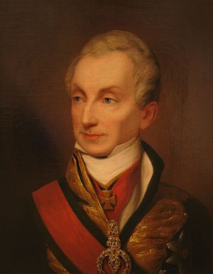 Concert of Europe - Prince Metternich, Austrian Chancellor and an influential leader in the Concert of Europe.