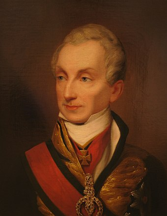 Metternich in a painting thought to date to between 1835 and 1840 Metternich (c. 1835-40).jpg