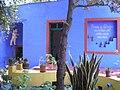 Mexico - Musée Frida Kahlo - Entrée.JPG