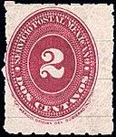 Mexico 1887 2c perf 6 Sc202 unused.jpg