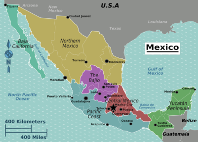 Mexico Travel Guide At Wikivoyage