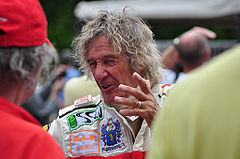 Arturo Merzario podczas Goodwood Festival of Speed w 2009 roku