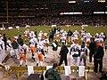 Miami sideline section, 2008 Emerald Bowl 1.JPG