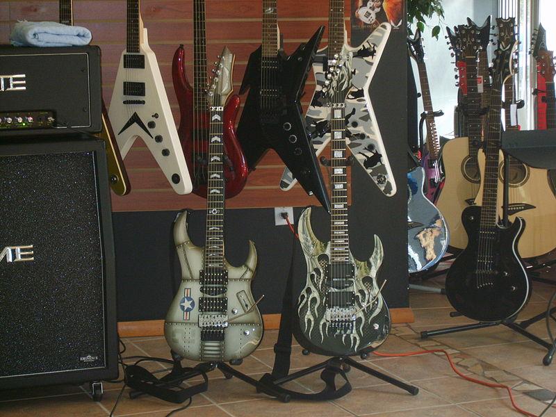 file michael angelo batio 39 s signature guitars jpg wikimedia commons. Black Bedroom Furniture Sets. Home Design Ideas