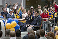 Michael Gardiner and Adam Hunter, Grand Final parade.jpg