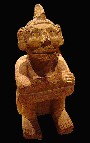 Mictlantecuhtli - Statuette of Mictlantecuhtli in the British Museum.