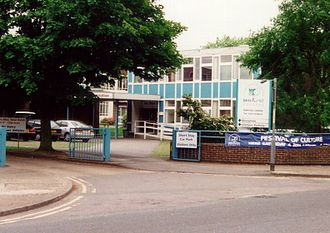 MidKent College - Former Midkent College in Horsted, Rochester in May 2009