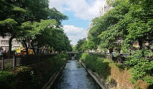 The canal was excavated by the Japanese during the Japanese ruling period. The many canals in made Taichung the Kyoto of Taiwan.