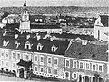 Miensk, Vysoki Rynak, Haściny Dvor. Менск, Высокі Рынак, Гасьціны Двор (1865-75).jpg
