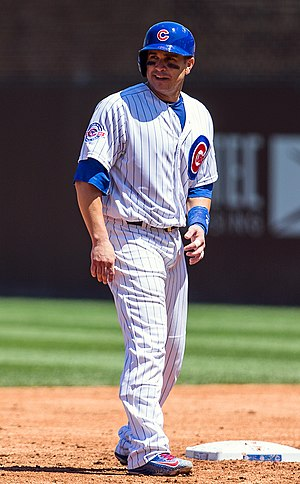 Miguel Montero - Miguel Montero on July 16, 2016 with the Cubs