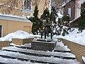Mikhail Bulgakov monument Kiev.jpg