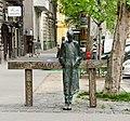 Miklós Radnóti (statue, Budapest).jpg