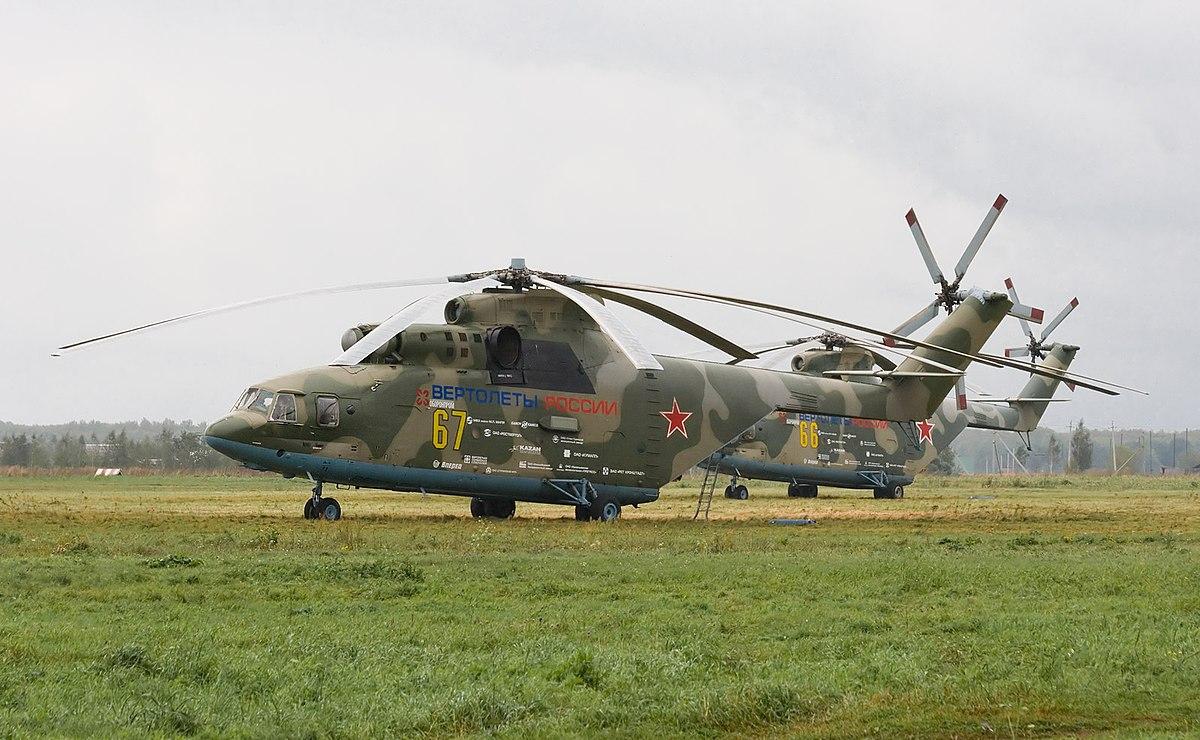 Mil Mi-26 - Wikipedia, la enciclopedia libre
