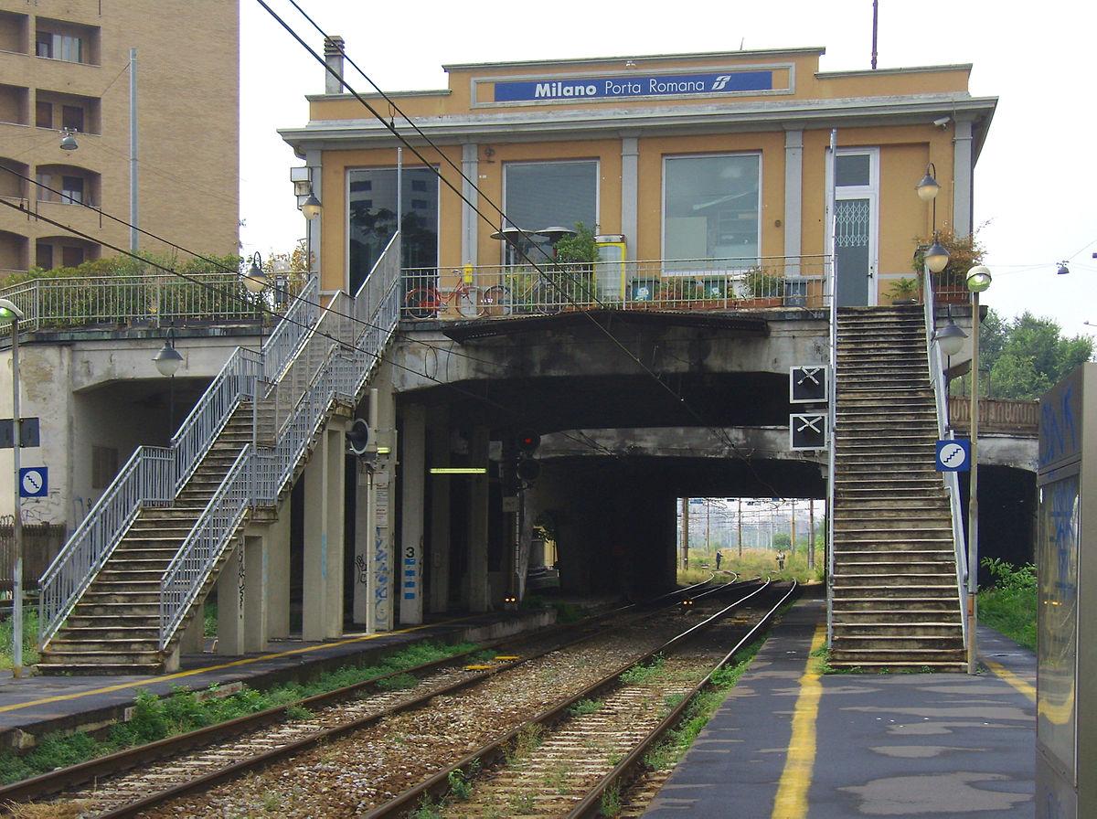 Stazione Di Milano Porta Romana Wikipedia
