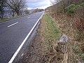 Milestone beside the A828 - geograph.org.uk - 351668.jpg