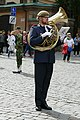 Military orchestra in front of the Stockholm Palace 09.jpg