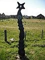 Millennium Milepost, Gailes - geograph.org.uk - 1671001.jpg