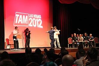 The Amazing Meeting - Image: Million Dollar Challenge 2012