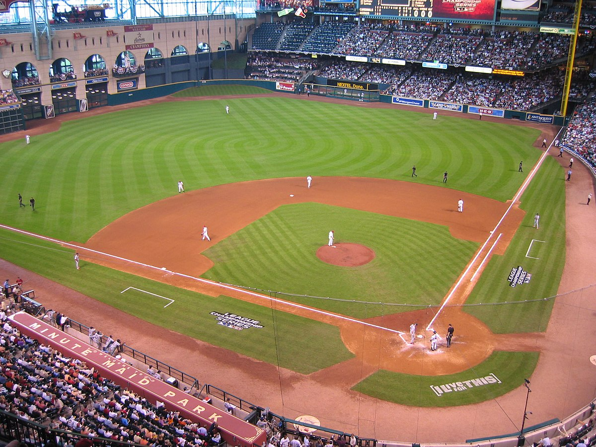 Minute Maid Park - Wikipedia, la enciclopedia libre