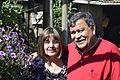 """Mis Padres, en el jardin del """"Tata Chato"""".JPG"""
