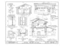 Mission San Juan Bautista, Second Street, San Juan Bautista Plaza, San Juan Bautista, San Benito County, CA HABS CAL,35-SAJUB,1- (sheet 17 of 38).png