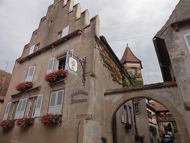 Mittelbergheim (Миттельбергхайм) достопримечательности Эльзас
