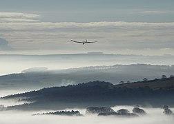Model aeroplane at Stanage (geograph 3819646).jpg