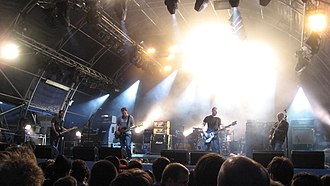 Mogwai - Mogwai playing at Somerset House, London, 7 July 2007