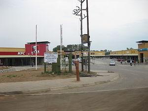 Molepolole - Mafenyatlala mall in Molepolole,