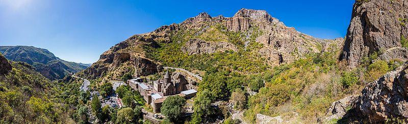 File:Monasterio de Geghard, Armenia, 2016-10-02, DD 65-74 PAN.jpg