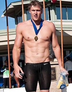 Kenrick Monk Australian swimmer