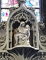 Mons St Waltrude Church altar scenes life of Christ 02.JPG