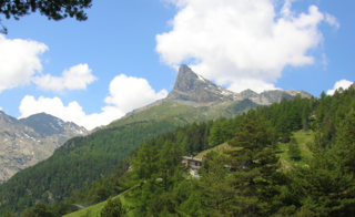 Mont Avic mountain in Italy