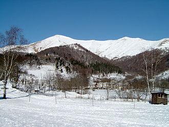 Lugano Prealps - Monte San Primo in winter from Pian del Tivano