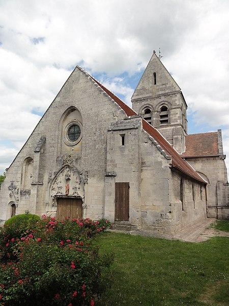 Église Saint-Martin de Montigny-Lengrain