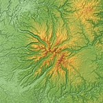 Monts du Cantal Relief Map, SRTM-1.jpg