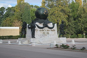 French Foreign Legion Museum - Image: Monument morts legion