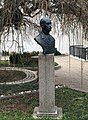 Monument to Jovan Cvjić in front of his house, Belgrade.jpg