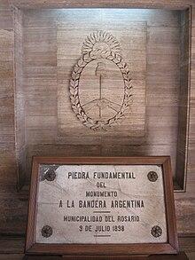 D a de la bandera argentina wikipedia la enciclopedia libre - Baneras de piedra ...