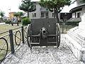 Monumento ai Caduti, cannone (Sant'Anna, Chioggia).jpg